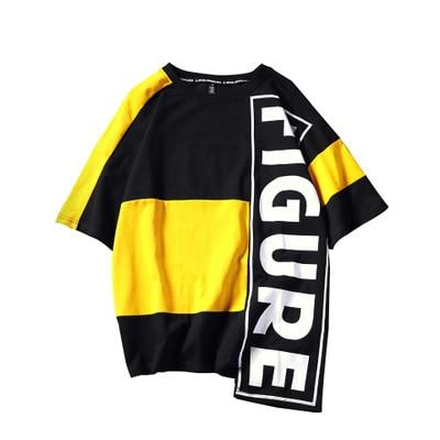 FIGURE-TEE (RED\YELLOW)