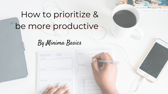 How to prioritize & be more productive
