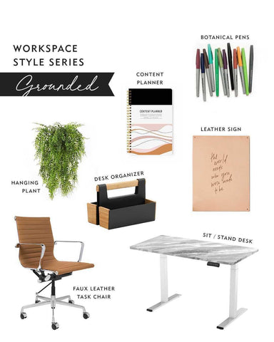 minima basics blog grounded workspace style
