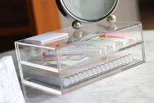 Load image into Gallery viewer, Acrylic 2 drawers storage box - Minima Basics