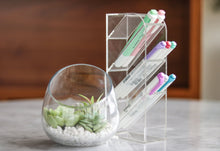 Load image into Gallery viewer, Trio essential acrylic desk organizers - Minima Basics