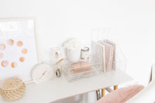 Load image into Gallery viewer, Trio essential acrylic desk organizers