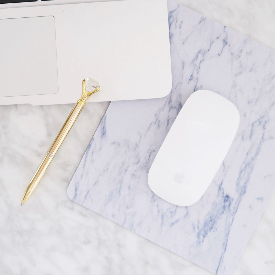 Office non-slip marble mouse pad
