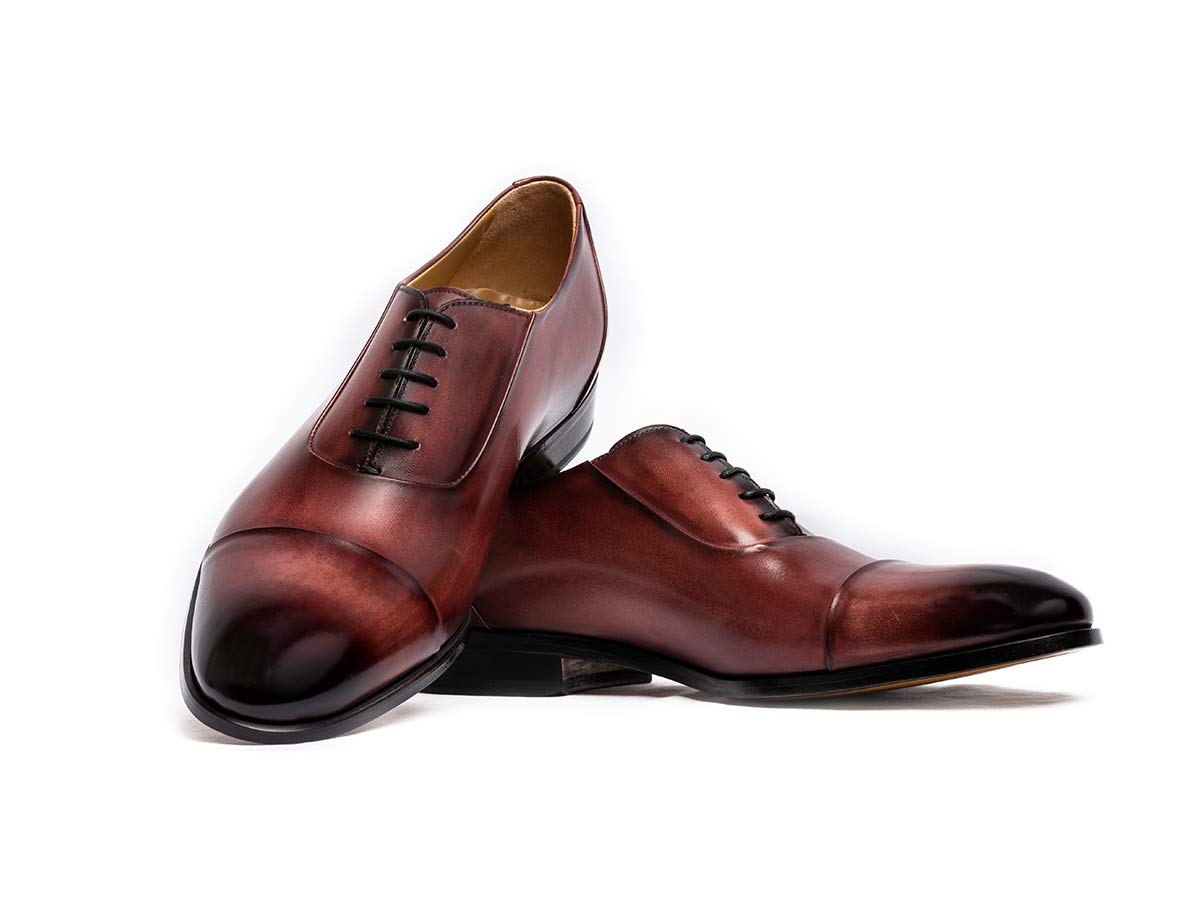 Matteo Cap Toe Oxford Rubino Nicol