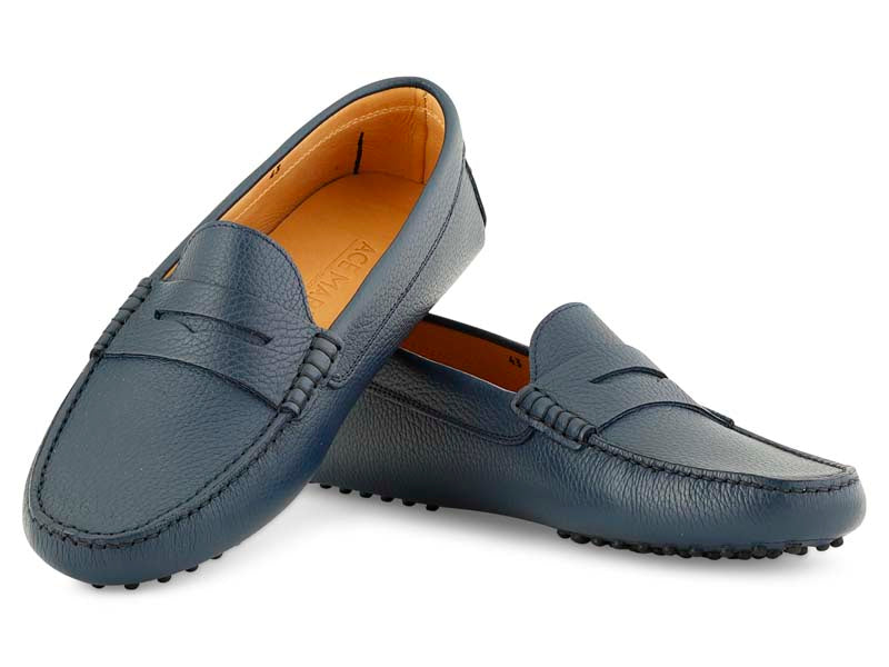 Santi Moccasin in Ocean Leather