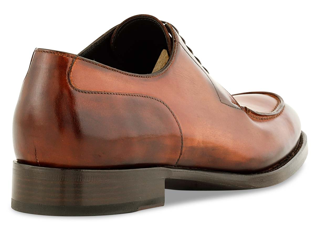 Michael Stitch Toe Blucher in Cognac Signature