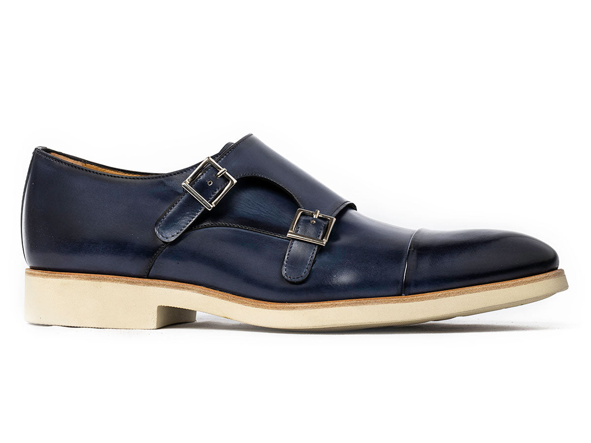 Blake Captoe EVA Monkstrap in Blue Tony