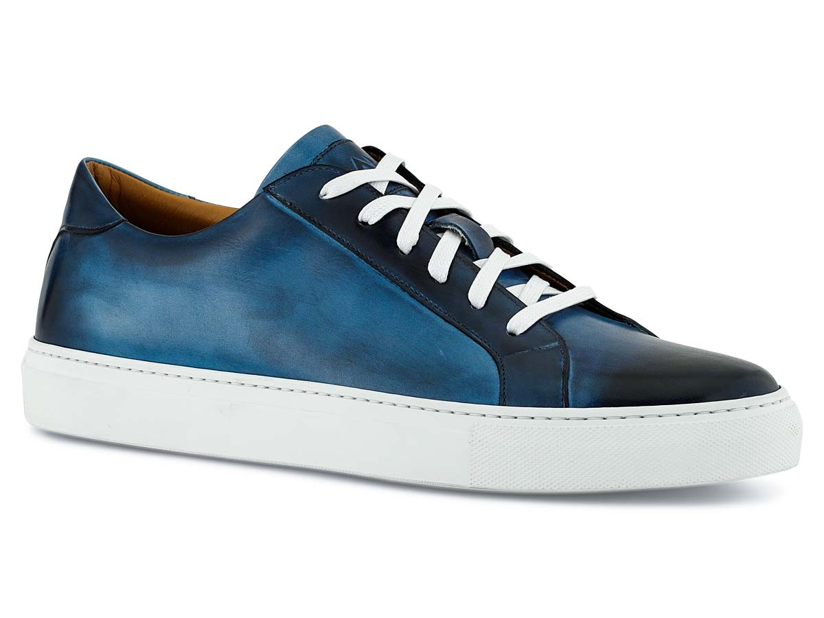 Duke Sneaker in Vela Blue Nicol