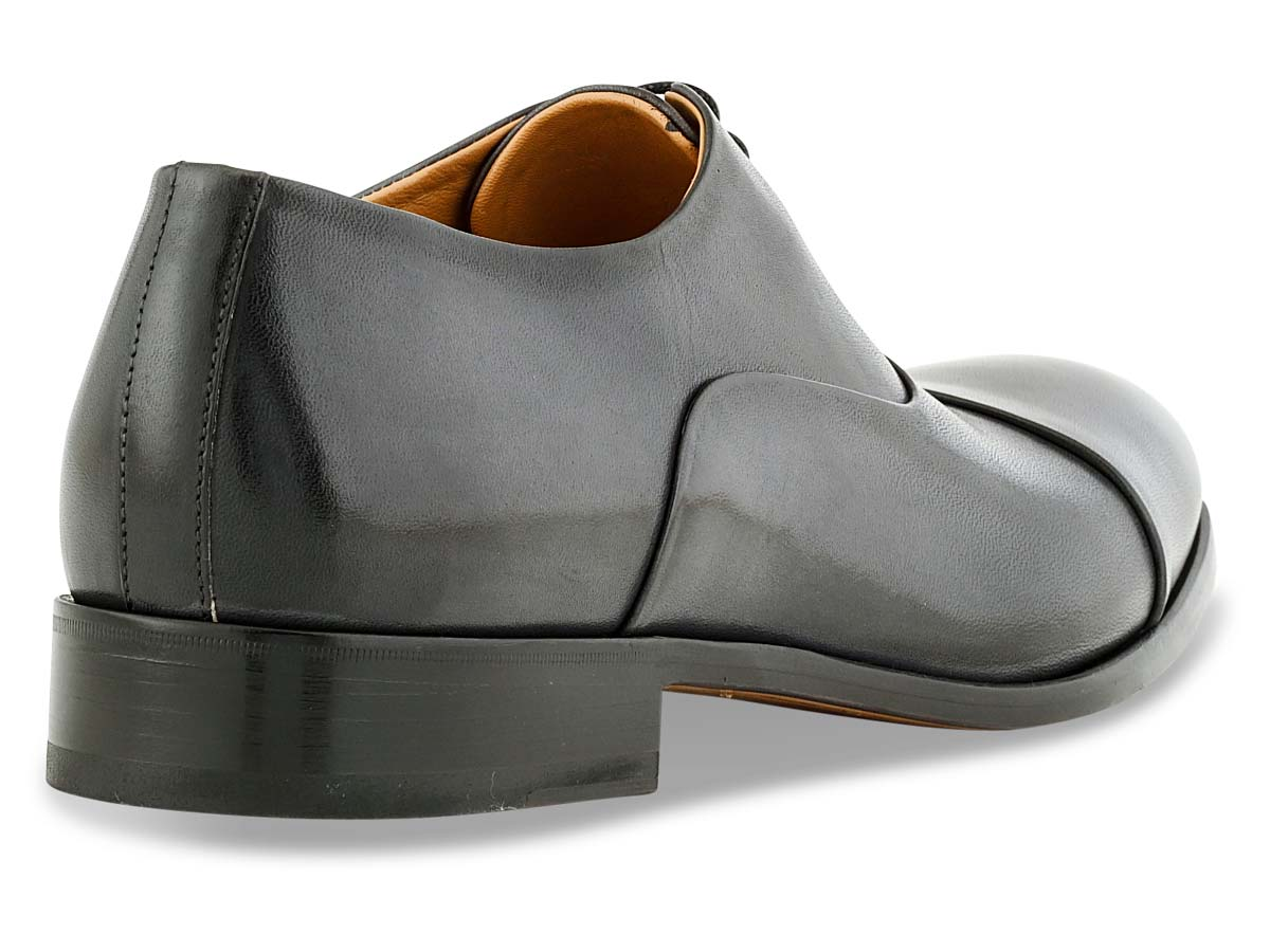 Griffin Oxford Cap Toe in Grey Nicol
