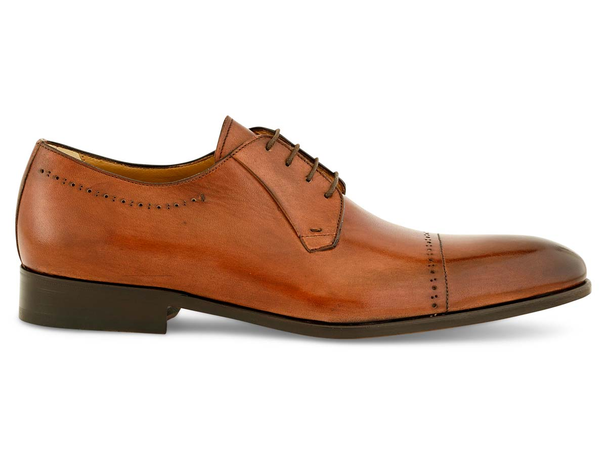 Jared Blucher Cap Toe in Brown