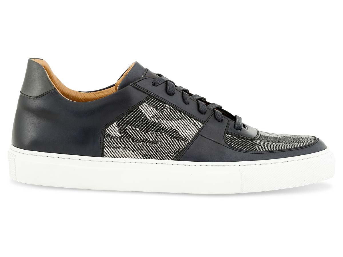 Jesse Dress Sneaker in Black & Camo