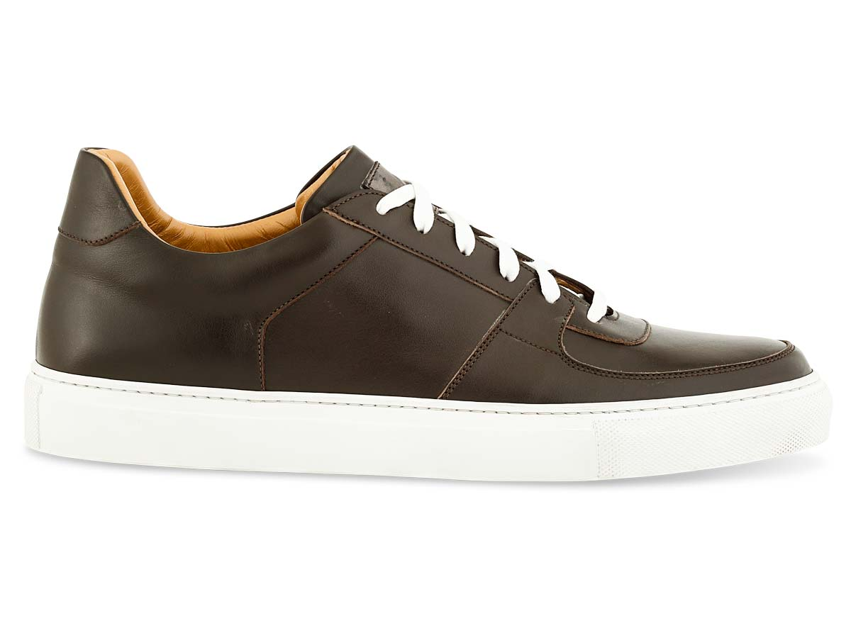 Jesse Dress Sneaker in Dk. Brown