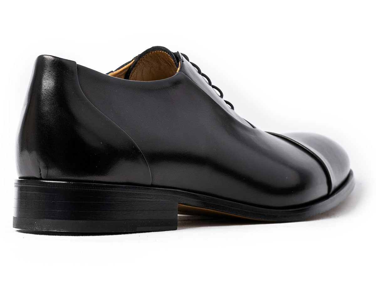 Matteo Cap Toe Oxford Black Antique