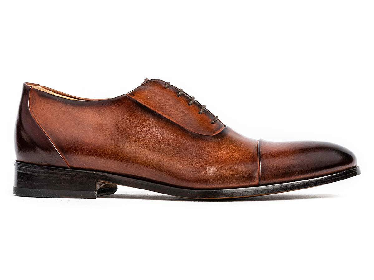 Matteo Cap Toe Oxford Cognac Nicol
