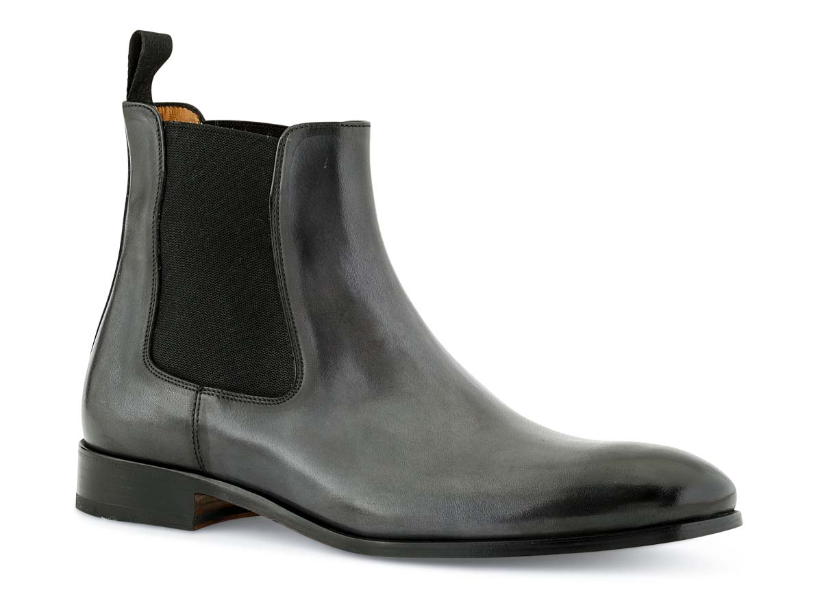 Troy Chelsea Boot in Grey Nicol