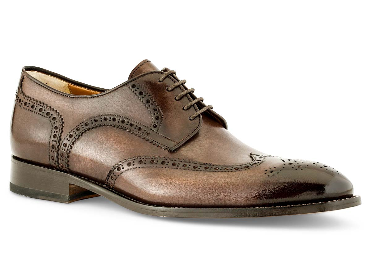 Vincent Wingtip in Chocolate Nicol