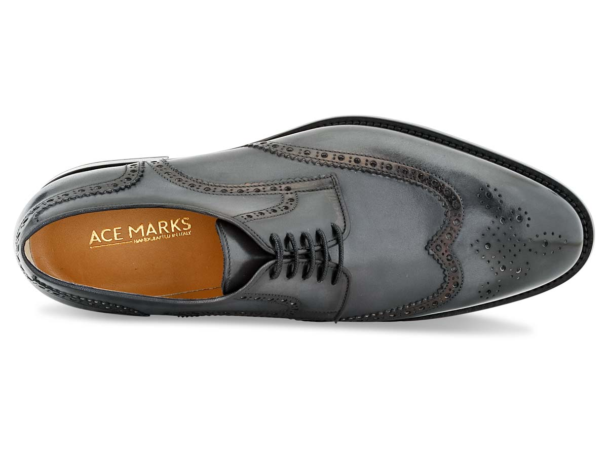 Vincent Wingtip in Grey Nicol