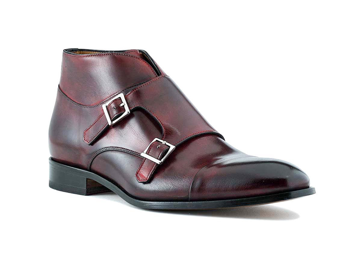 James Monkstrap Boot Diablo