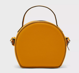 Circle Top Handle Crossbody