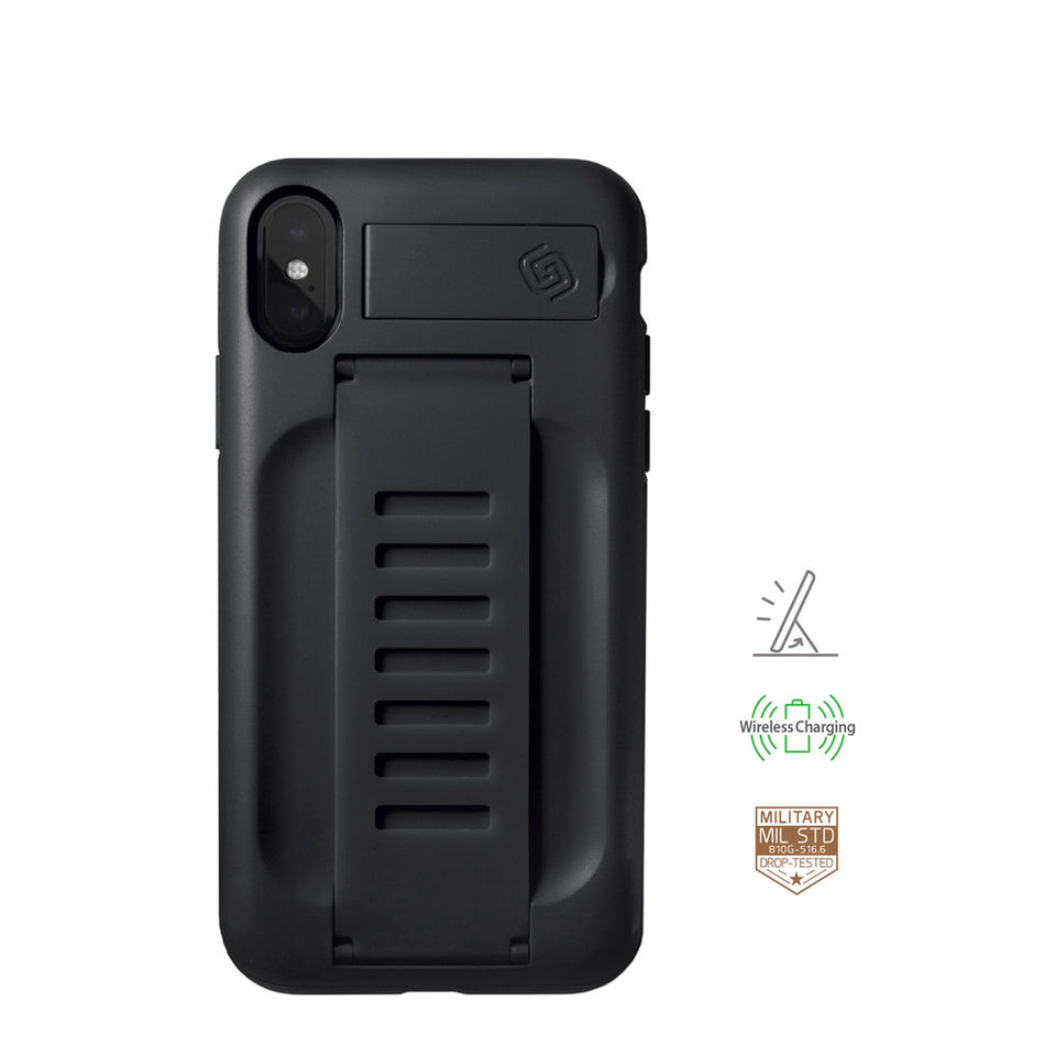 iPhone XS MAX BOOST with Kickstand Charcoal
