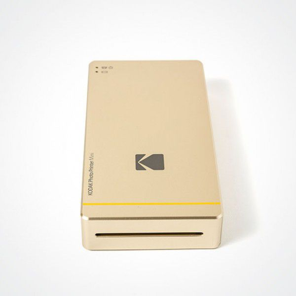 KODAK PM-210G Gold Photo Printer Mini for iPhone and Android