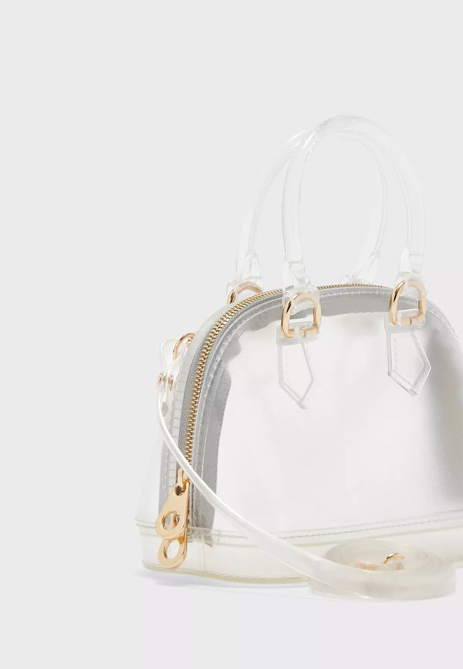 Transparent Mini Bowler Totes