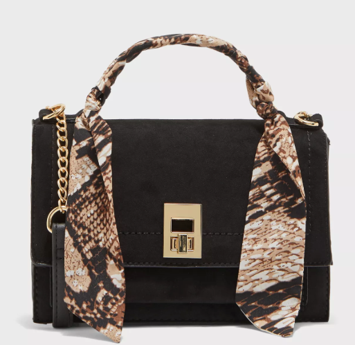 Shea Scarf Top Handle Crossbody