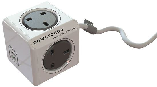 Powercube with cable and USB 1.5M