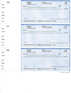 Pre-Printed Personal Checks - Mailable