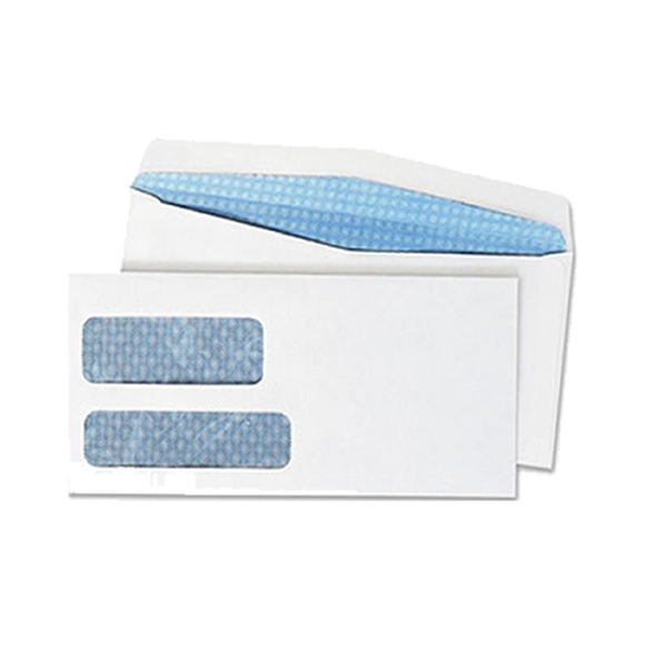 Personal Size 2-Window Security Envelopes