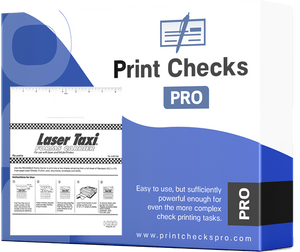 Print Checks Pro - Personal Kit - NO SPECIAL CHECKS REQUIRED