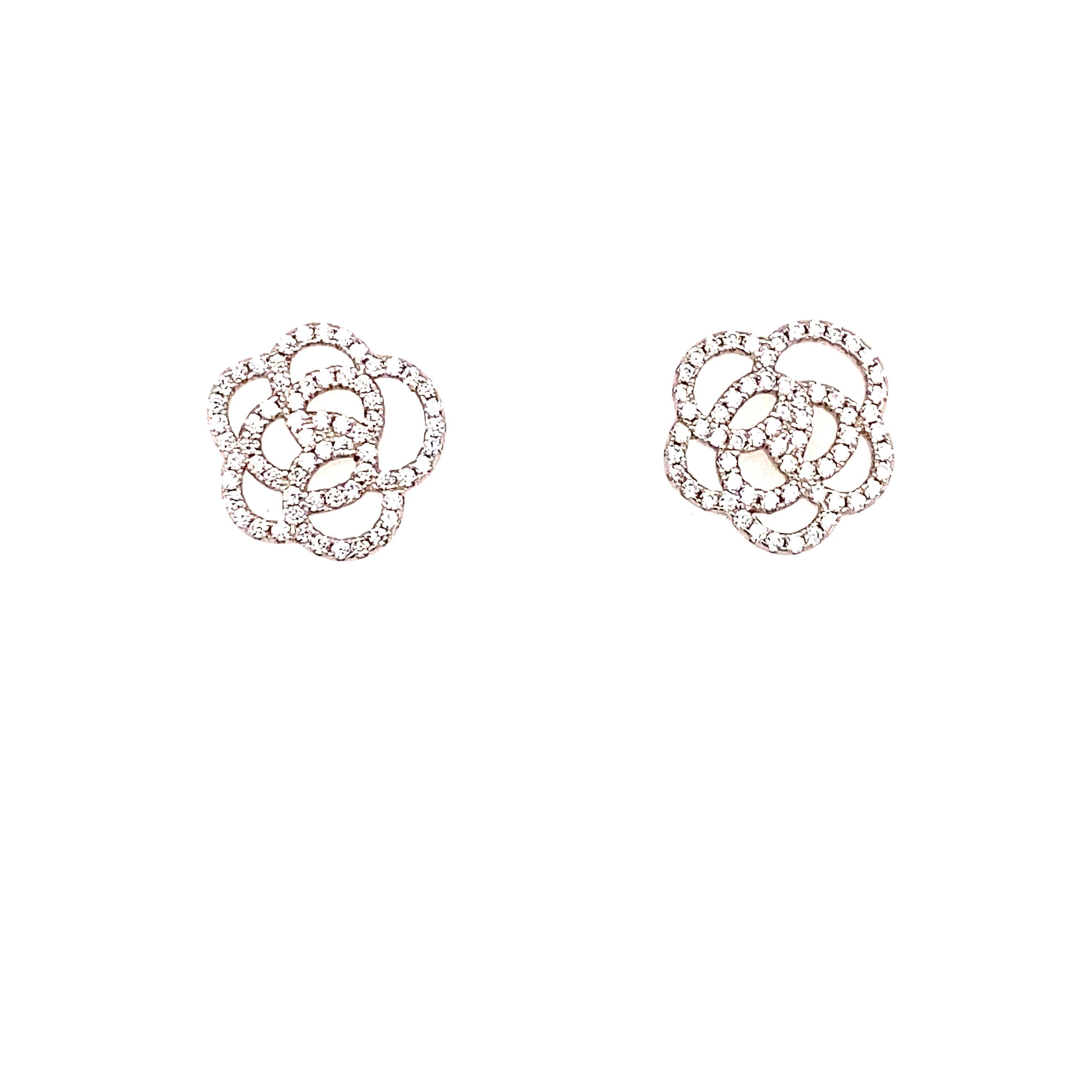 Dainty Floral Studs