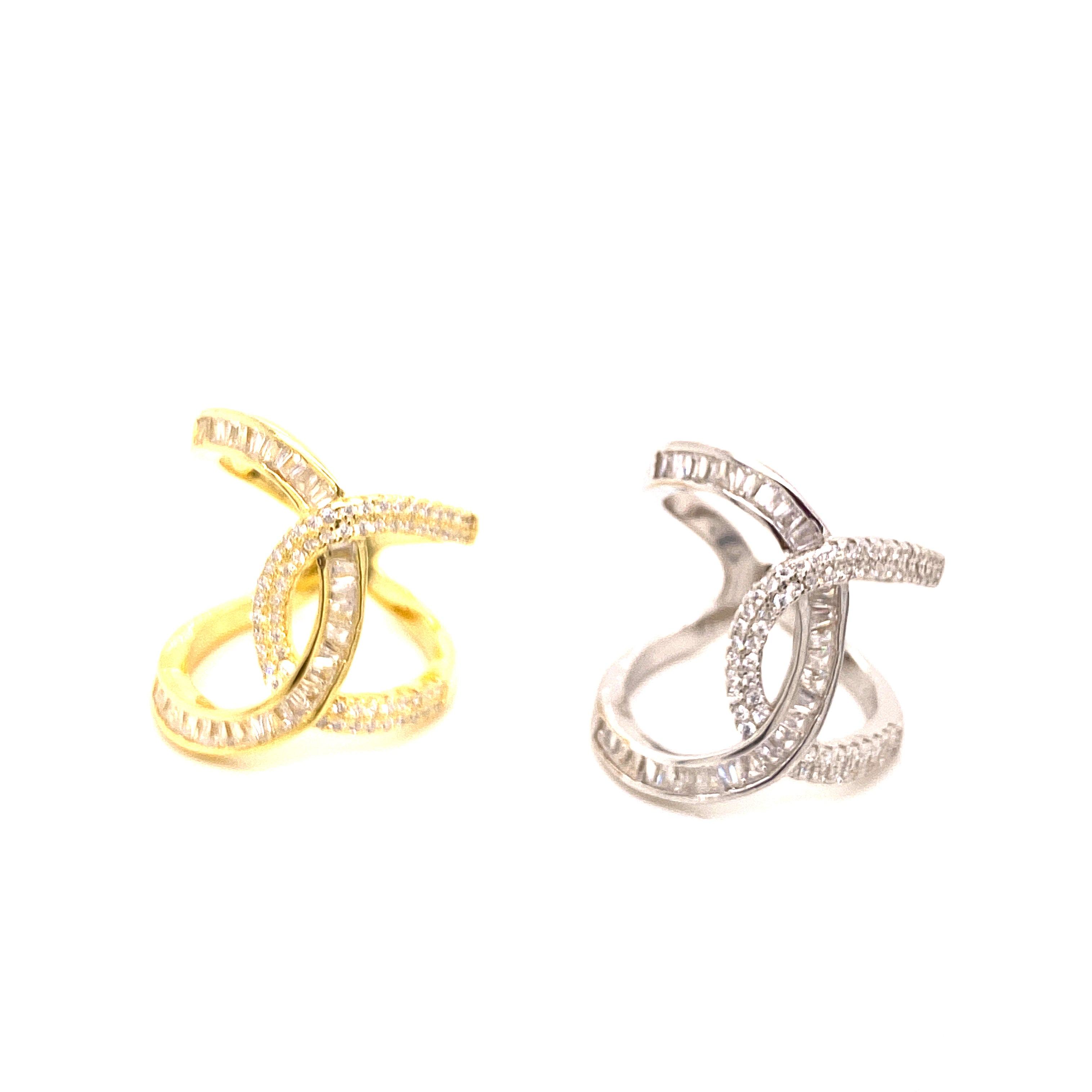Intertwined Standout Ring