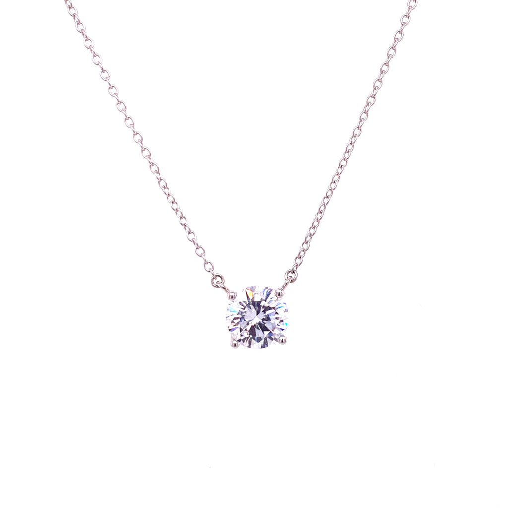 Medium Solitaire Necklace