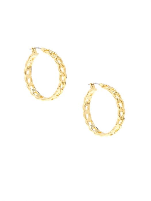Shiny Chain Hoops