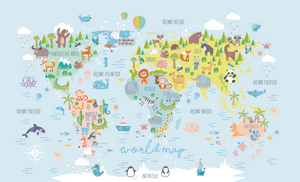 Color Animals Map
