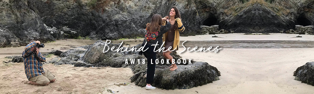 Behind the scenes: Roo's Beach AW18 Lookbook
