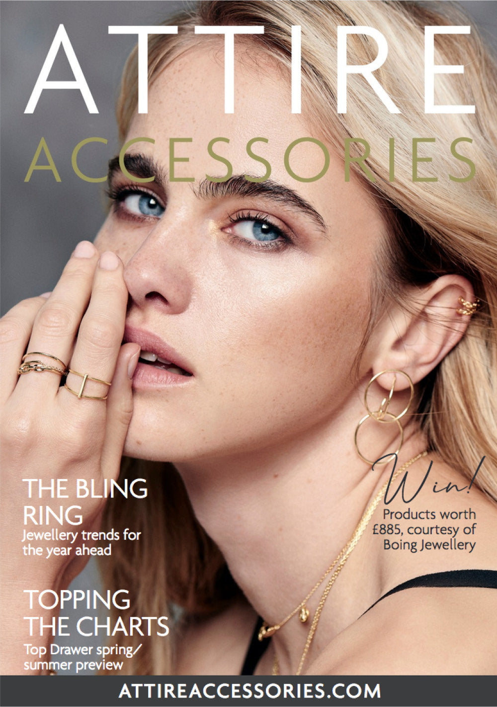 Attire Accessories Magazine November / December 2018
