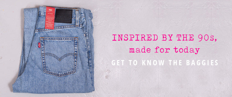 Levi's Baggy Real World Jeans | Available from Roo's Beach UK
