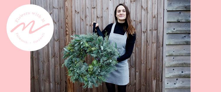Guest Blog - Christmas Wreath Making with Flowers With M