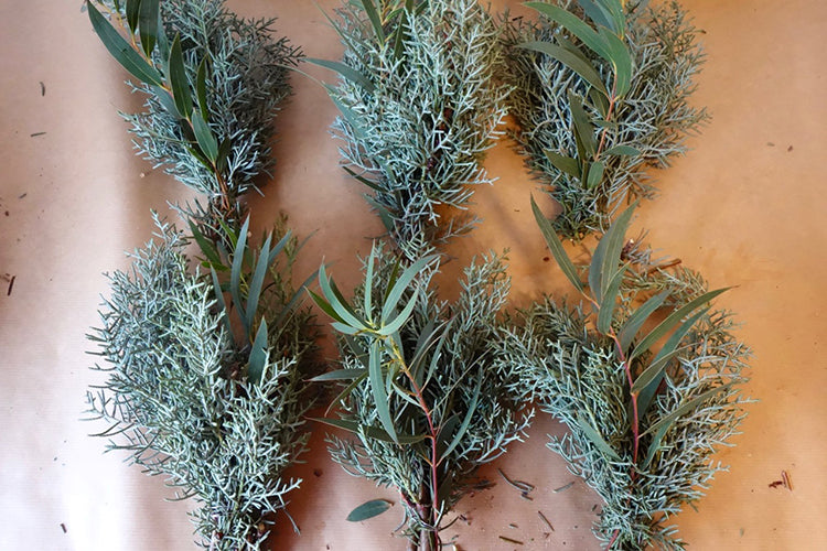 Juniper Wreath DIY Tutorial Cornwall