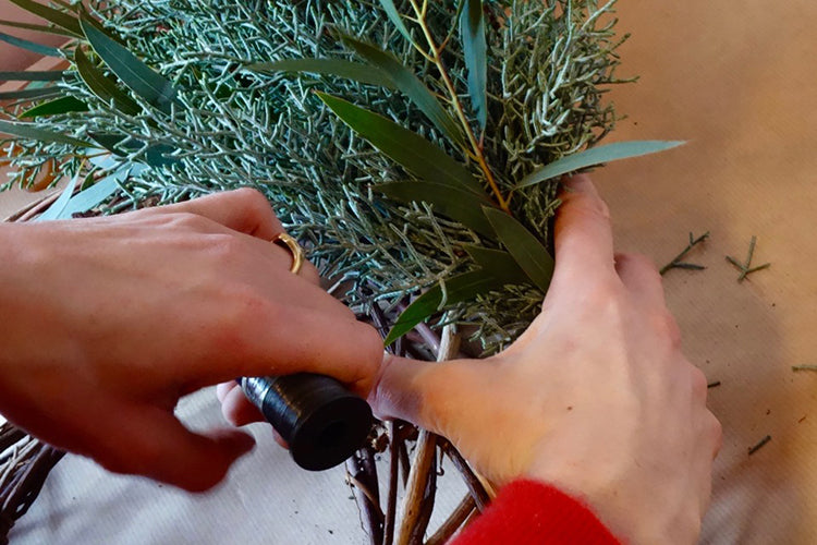 Juniper Wreath Tutorial