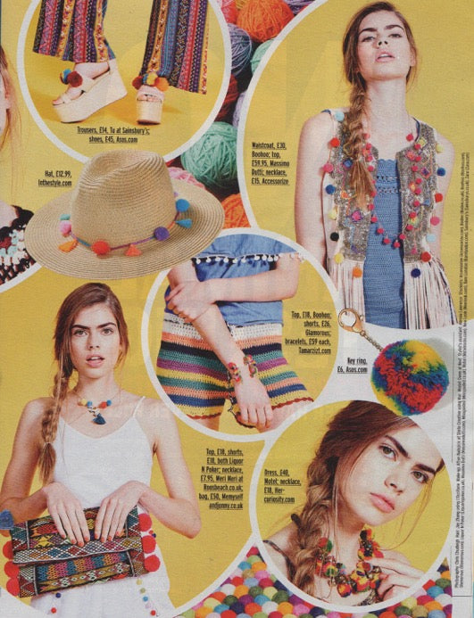 Fabulous Magazine Spread: Feature: In The Details – Pom Pom
