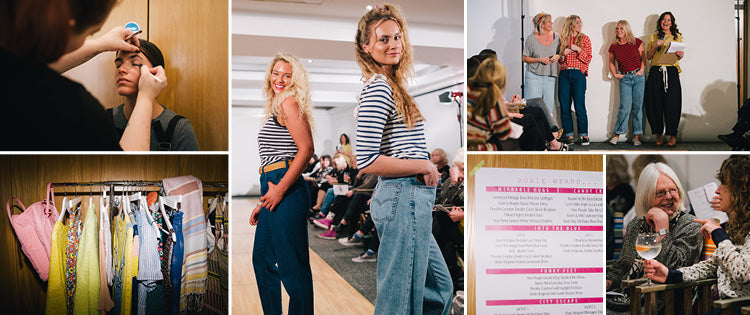 Behind the scenes of the Roo's Beach Fashion Feast 2018 at Bedruthan Hotel & Spa