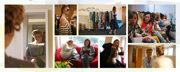 Behind the scenes snap shots of the Roo's Beach Fashion Feast event at The Bedruthan Hotel
