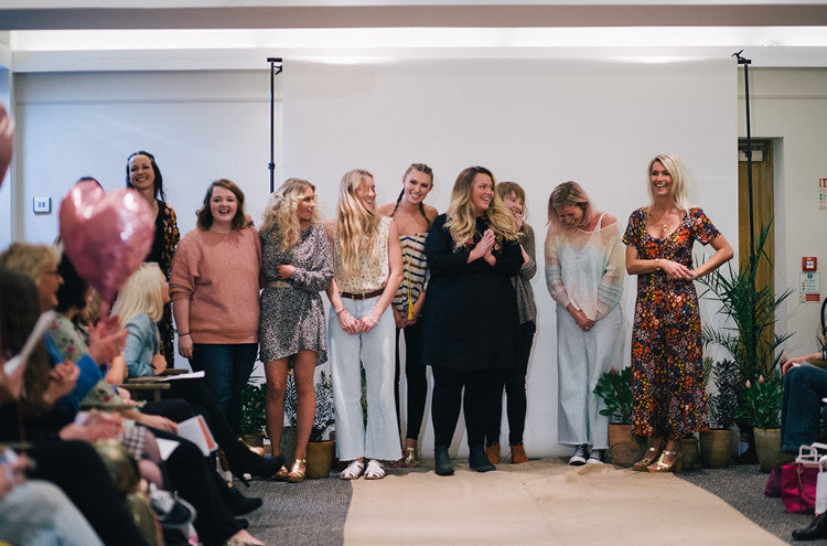 Behind the scenes snap shots of the Roo's Beach Fashion Feast event at The Bedruthan Hotel – That's a wrap