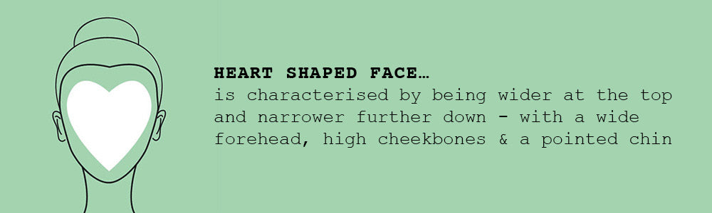 Heart-Shaped Face