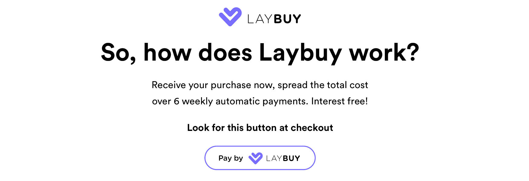 How does Laybuy work at Roo's Beach?