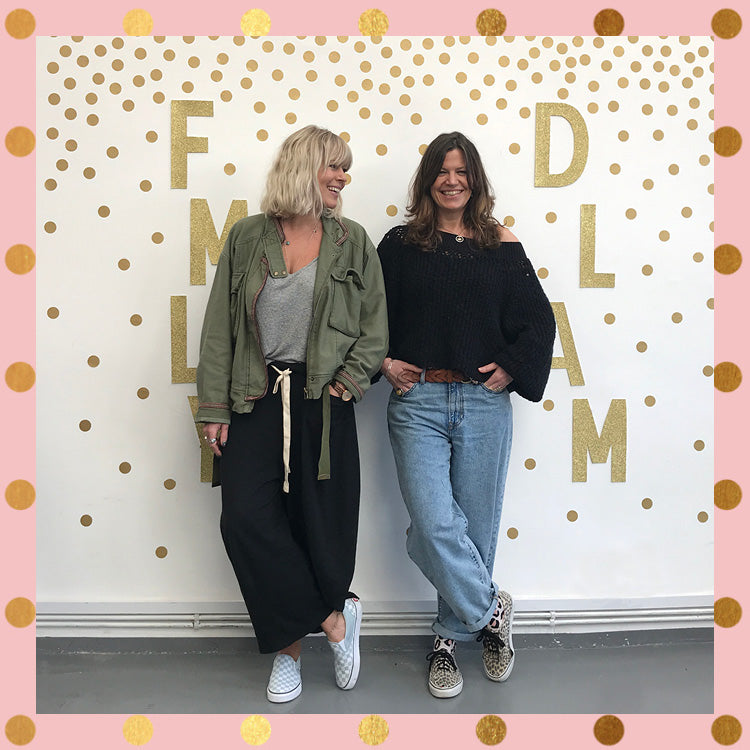 Roo & Bex at the Styling and Self Photography Masterclass at the FMLY Store