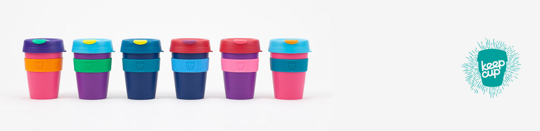 KeepCup Reusable Cups - Available from Roo's Beach UK
